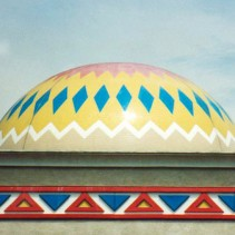 Large custom industrial domes for buildings