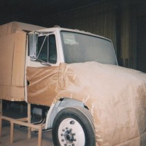 Freight Liner Truck – Fabrication Stage