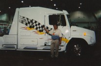 Freight Liner Truck – Completed